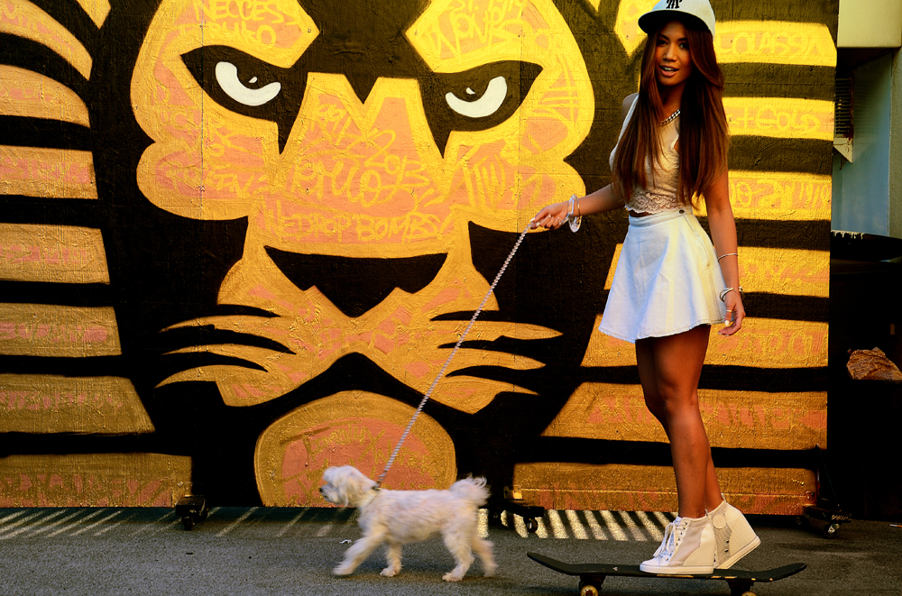 JessiMalay - Topshop - AmericanApparel - DKNY - Donna Karan - Tiffanyandco - Teruo - TeruoArtistry