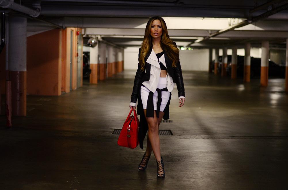 JessiMalay - Lanimal - croptop - blackandwhite - Nastygal - meshjacket - leatherjacket - GivenchyAntigona - Givenchypurse - Givenchypurse - Givenchy - Antigona -GivenchyAntugonapurse - GivenchyAntigonabag - Zara - Topshopbooties - Topshop - booties - heels - highheels - snakeskinheels