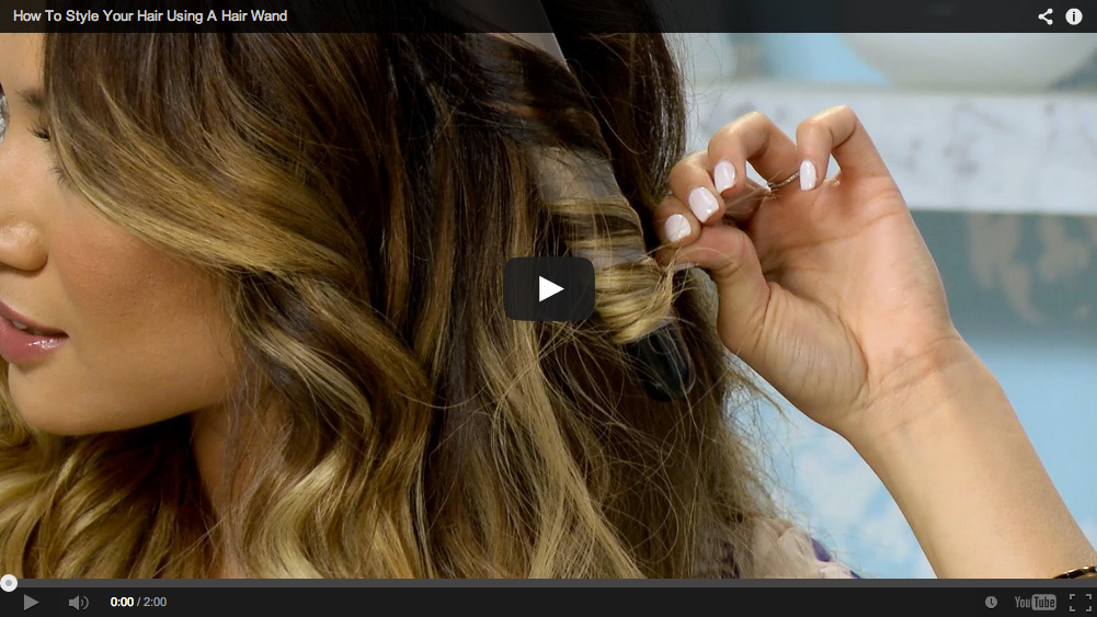 Modamob featuring Jessi Malay - How To Style Your Hair Using A Hair Wand
