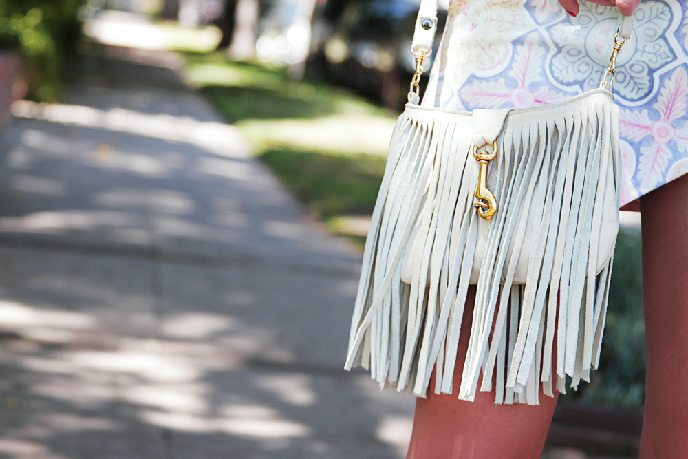 Jessi Malay - For Love And Lemons Ole Top - For Love and Lemons Ole Skirt - Free People necklace - AnarchyStreet bracelets - Fringe purse