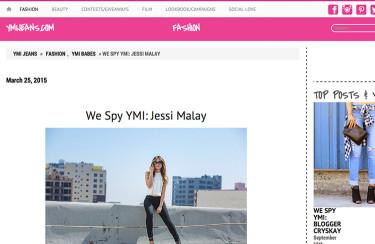 Jessi Malay x YMI Jeans