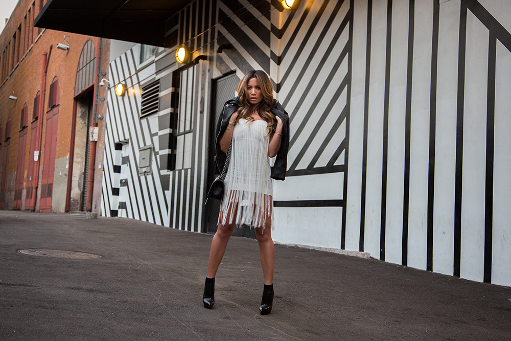 Jessi Malay in Kerol D. Melody Dress for LA Fashion Blog mywhiteT