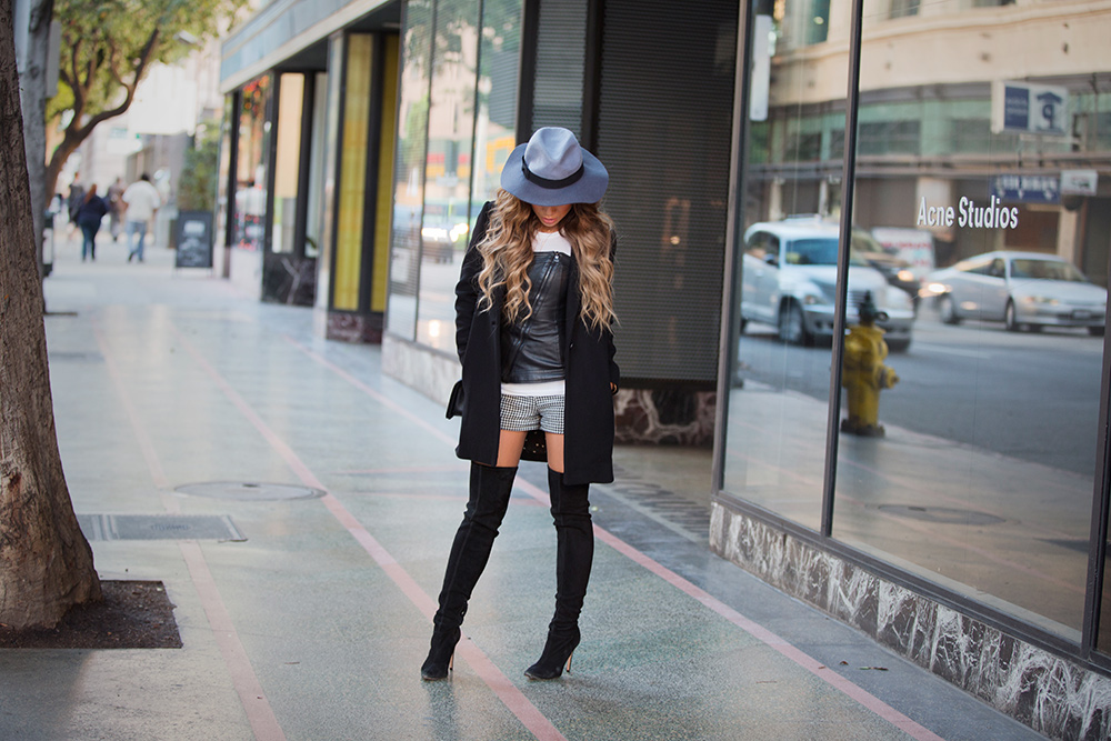 Jessi Malay in Downtown Los Angeles for Fashion Blog MyWhiteT