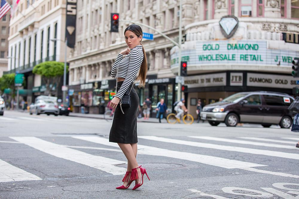 Fashion Blogger Jessi Malay in Downtown LA