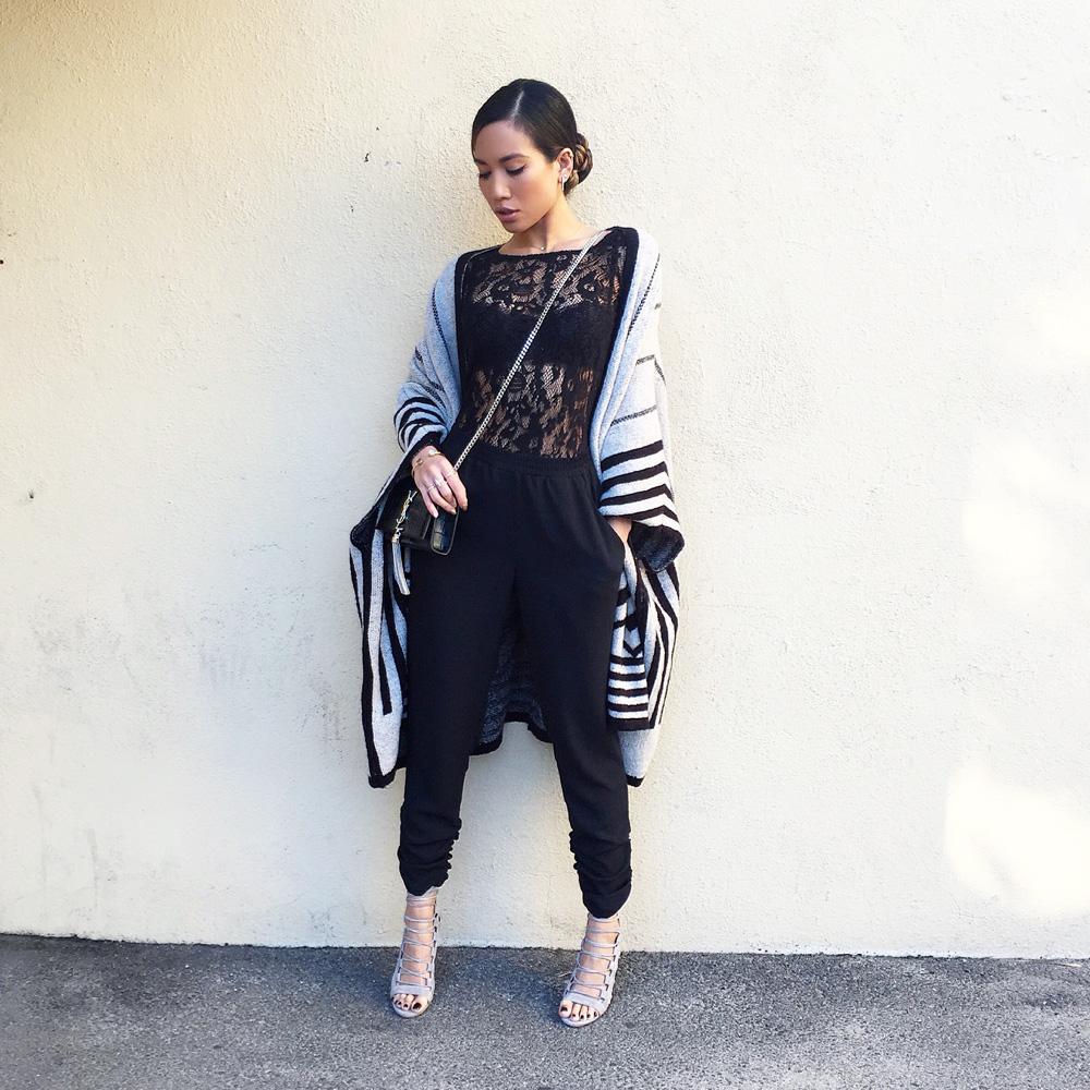 Zara poncho sweater