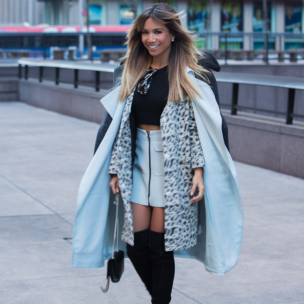 Fashion Blogger Jessi Malay at New York Fashion Week NYFW 2015 for mywhiteT