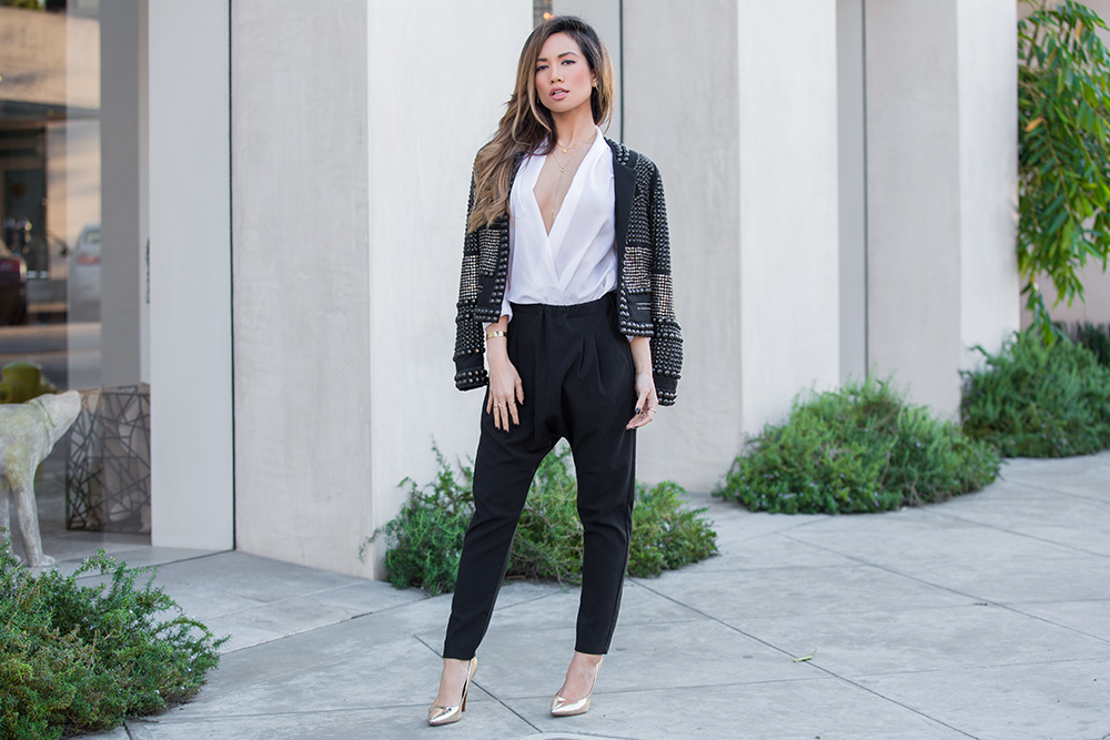 Jessi Malay on Melrose for Fashion Blog MWT