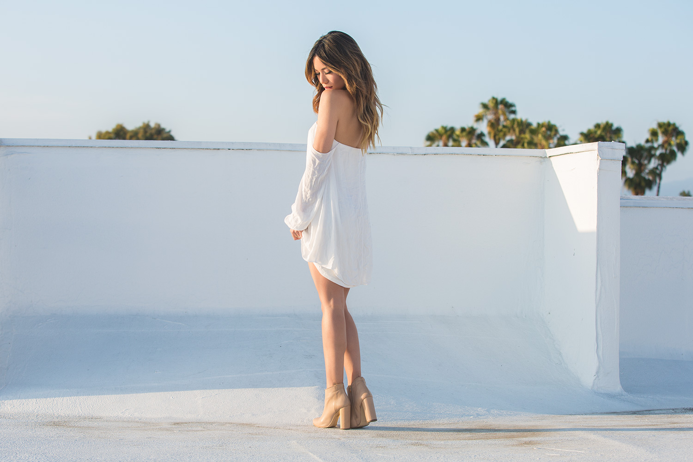 LA Fashion Blogger Jessi Malay for mywhiteT