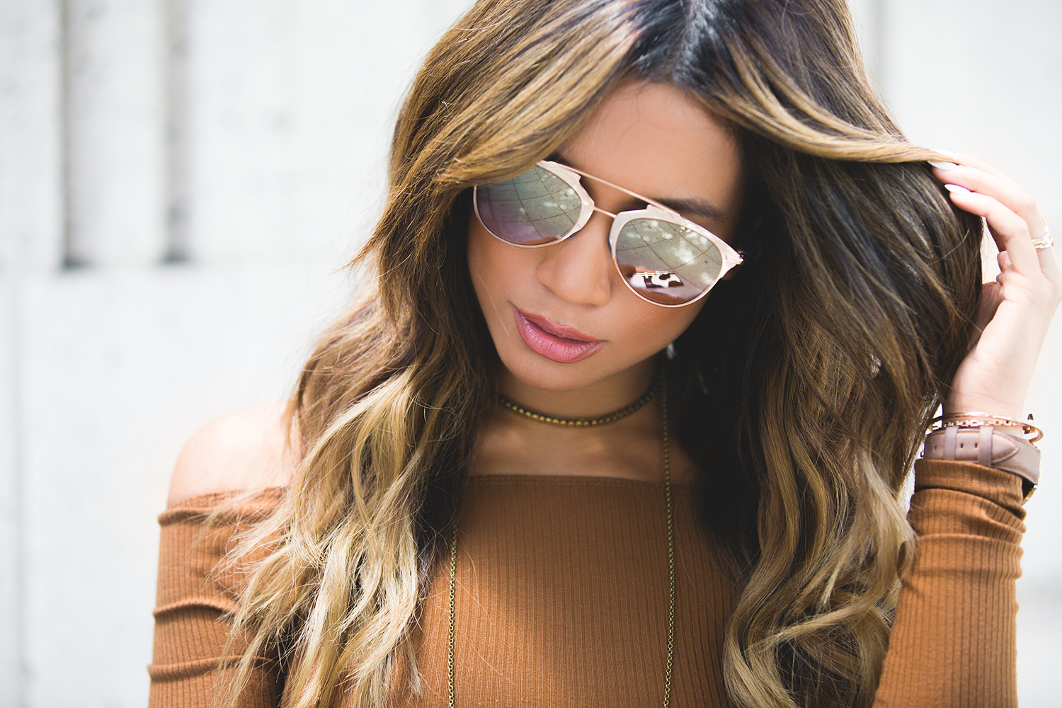 Fashion Blogger Jessi Malay  in Downtown LA