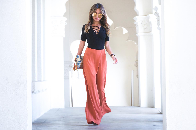 Jessi Malay Wearing Reformation Serena Bodysuit