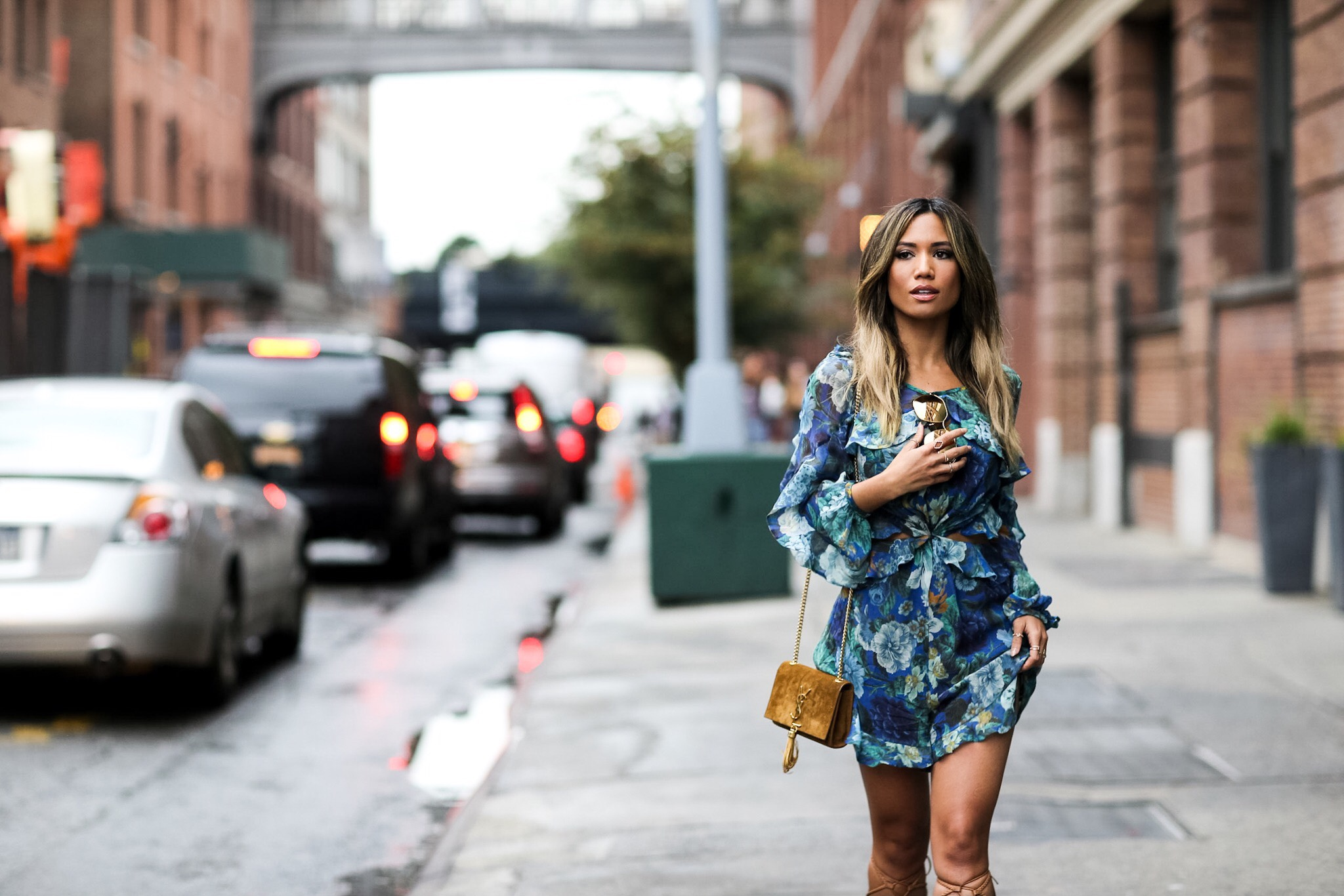 Jessi Malay at NY Fashion Week