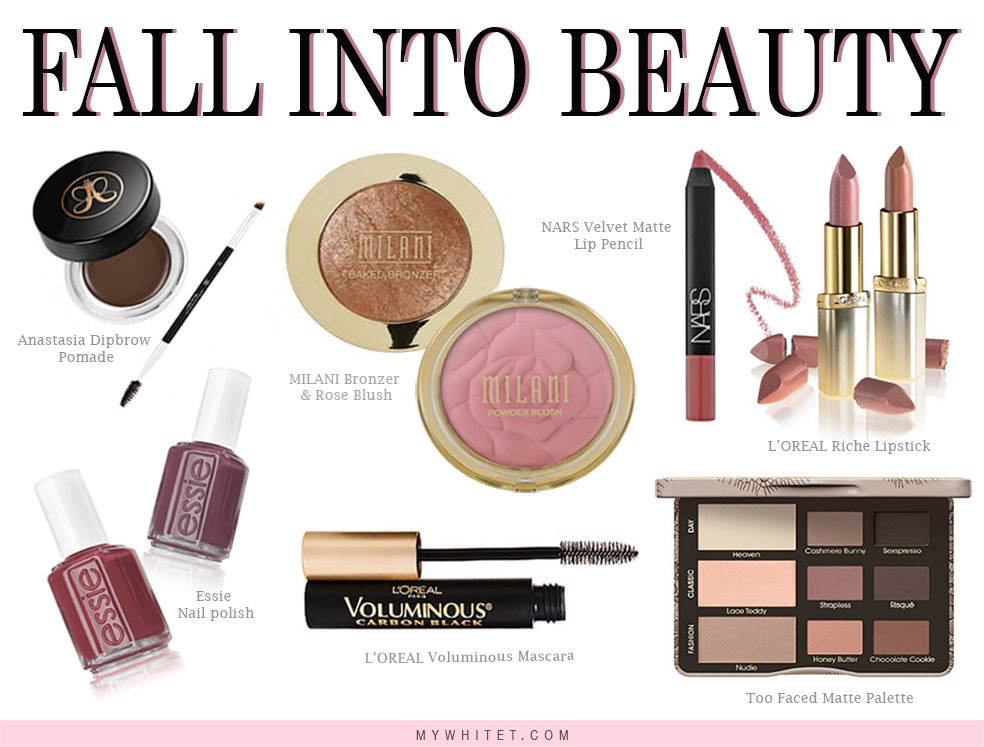 Fall Beauty Collage