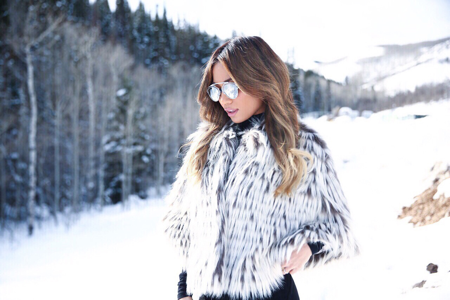Jessi Malay for Forray Collective in Park City, Utah