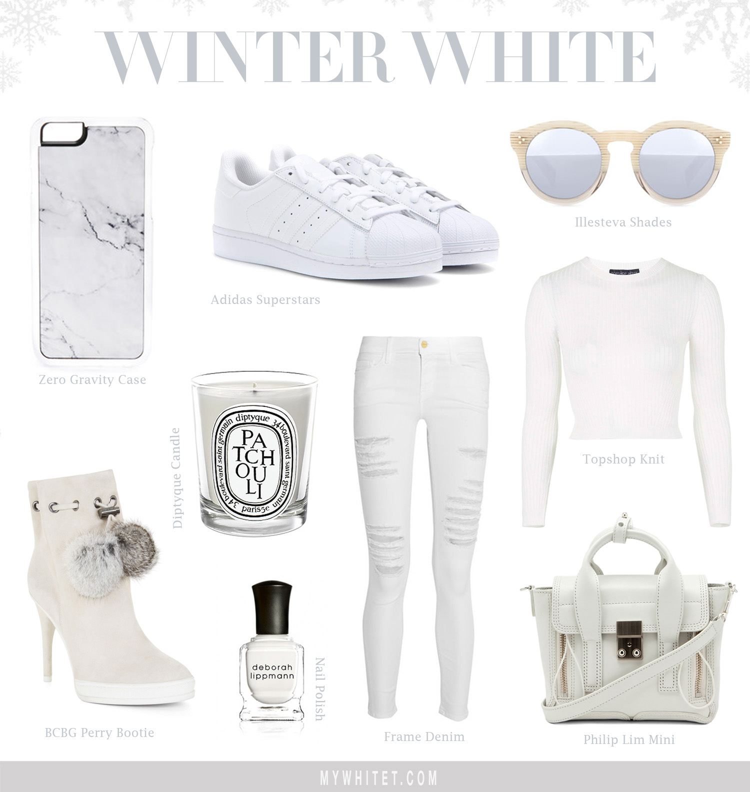 Jessi Malay's Winter White Collage