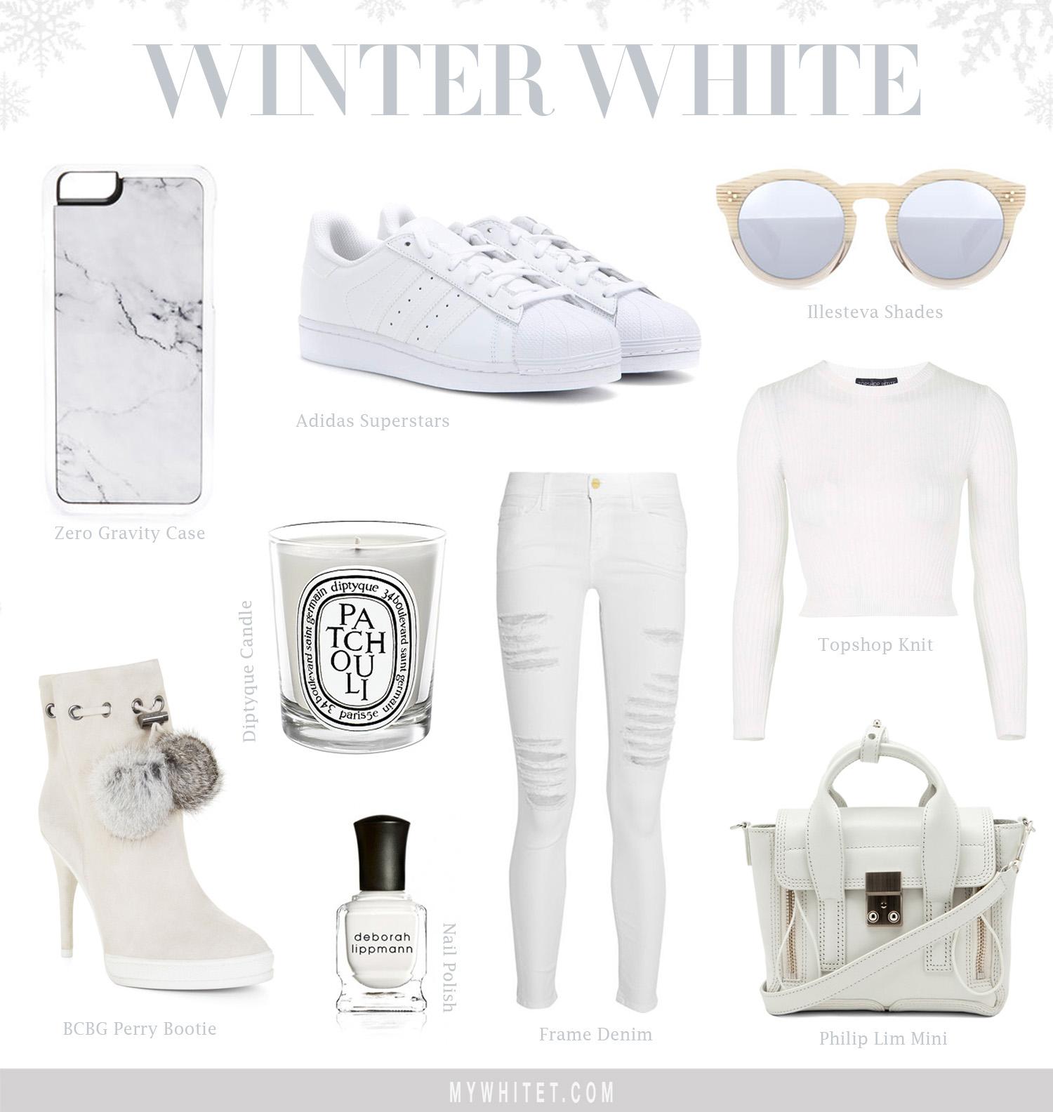 Jessi Malay's Winter White Collage