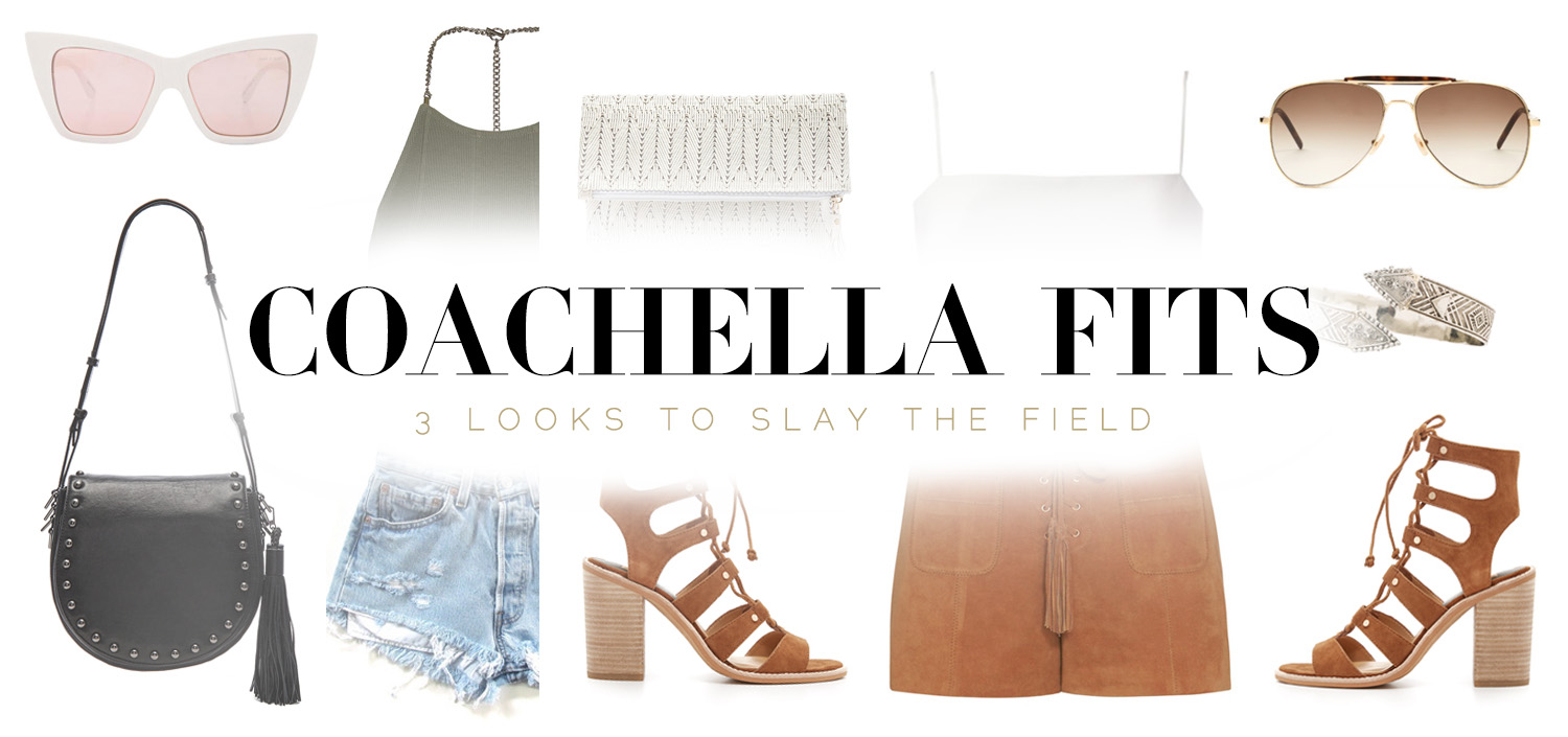 3 Coachella Inspired Outfits
