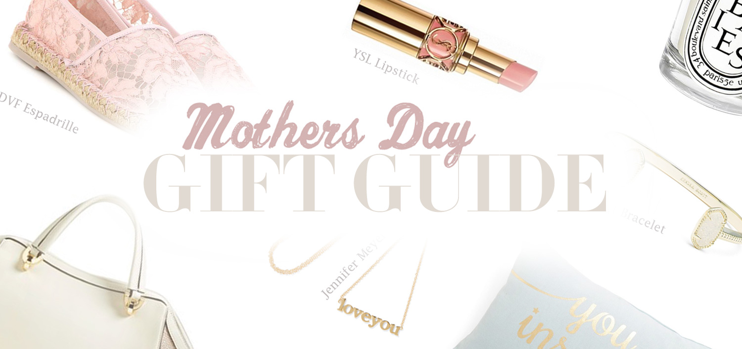 2016 Mother's Day Gift Guide Ideas