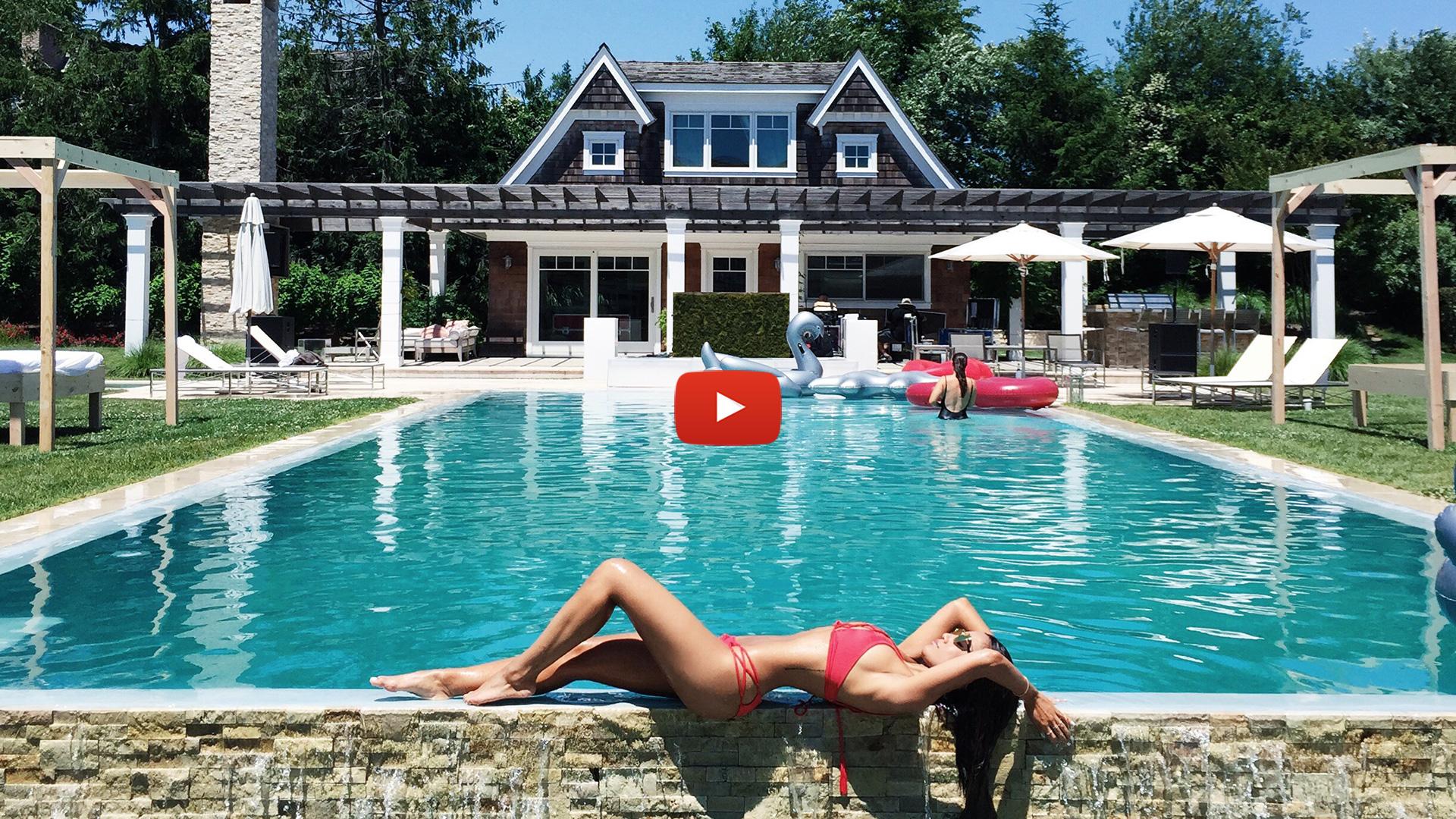 Jessi Malay at Revolve In The Hamptons NY 2016