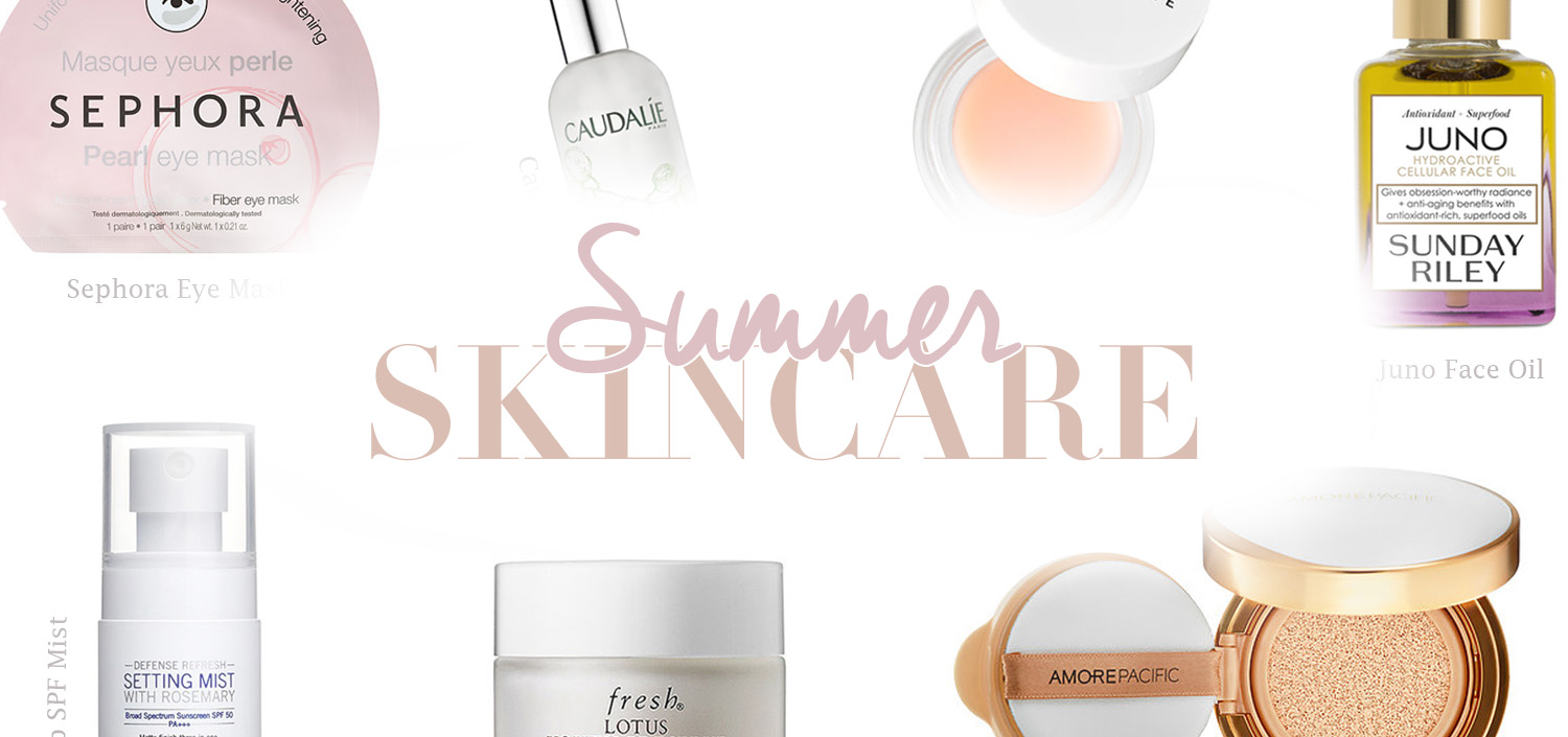 Best Summer Skincare Products