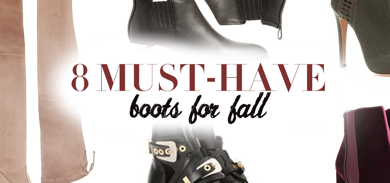 best boots for fall 2016