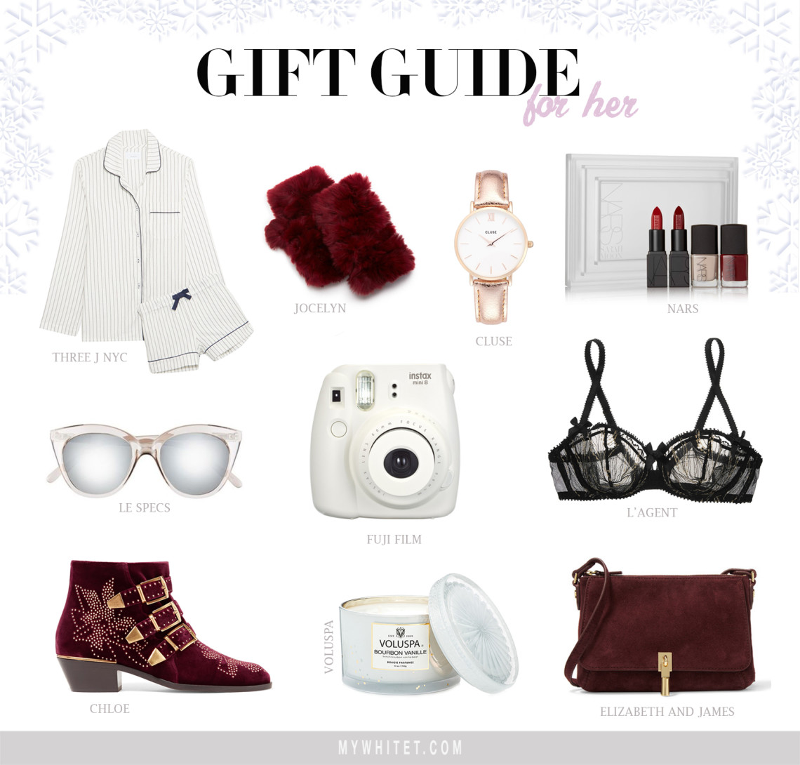 Holiday gift guide for her