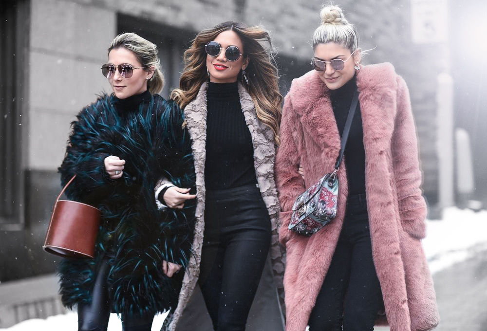 Jessi Malay Emily Luciano Christie Ferrari at New York Fashion Week