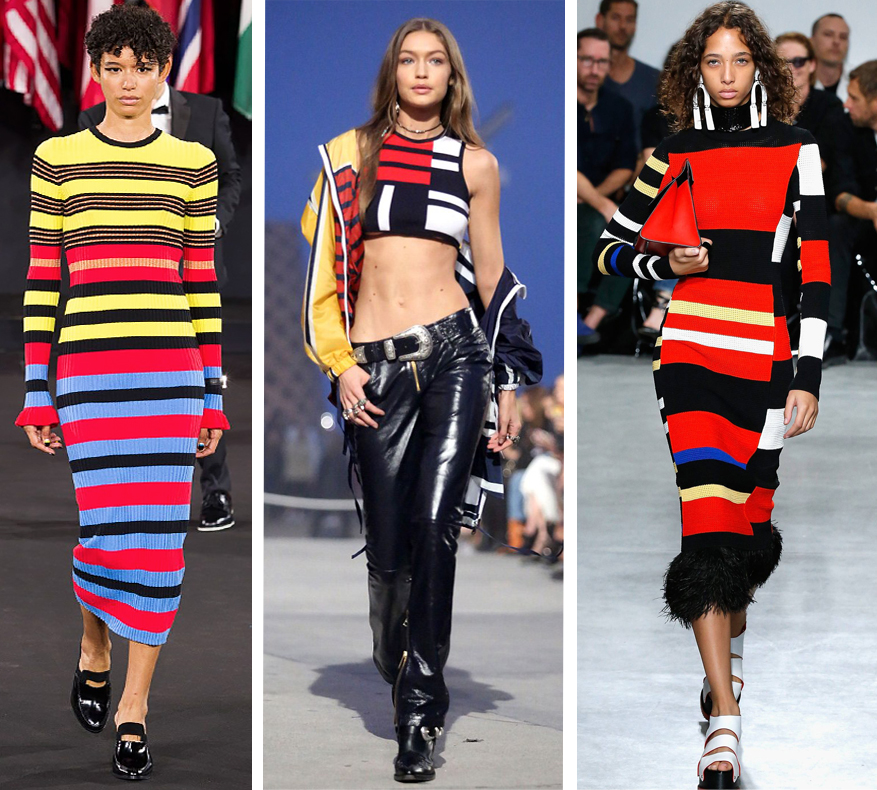Stripe trend at NYFW