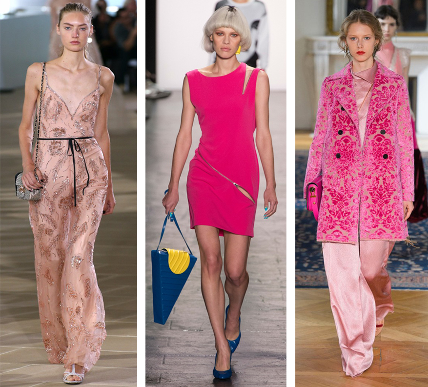 Shades of Pink at NYFW