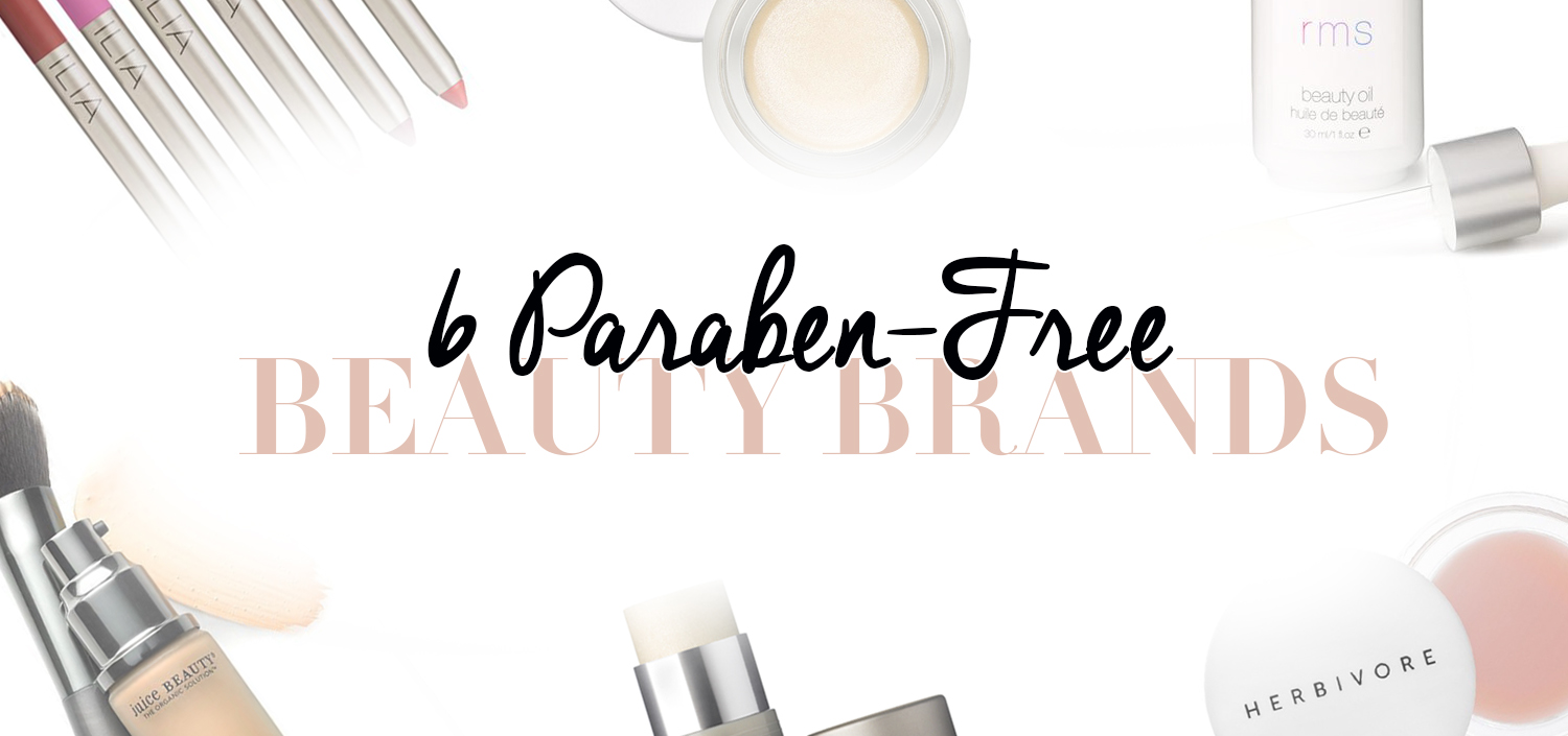6 paraben-free beauty brands
