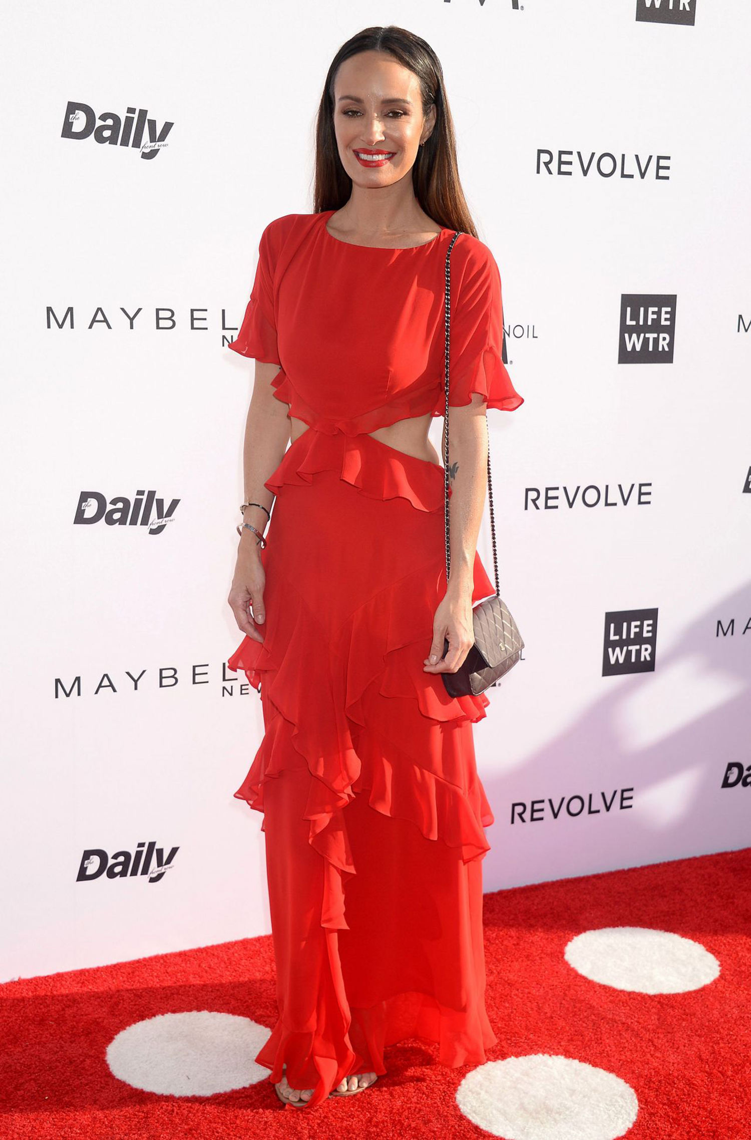 Catt Sadler at the Daily Front Row Fashion Awards