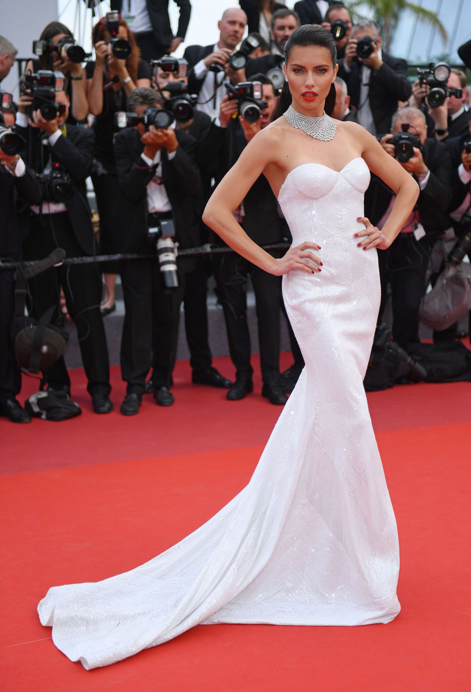 Adriana Lima at Cannes Film Festival