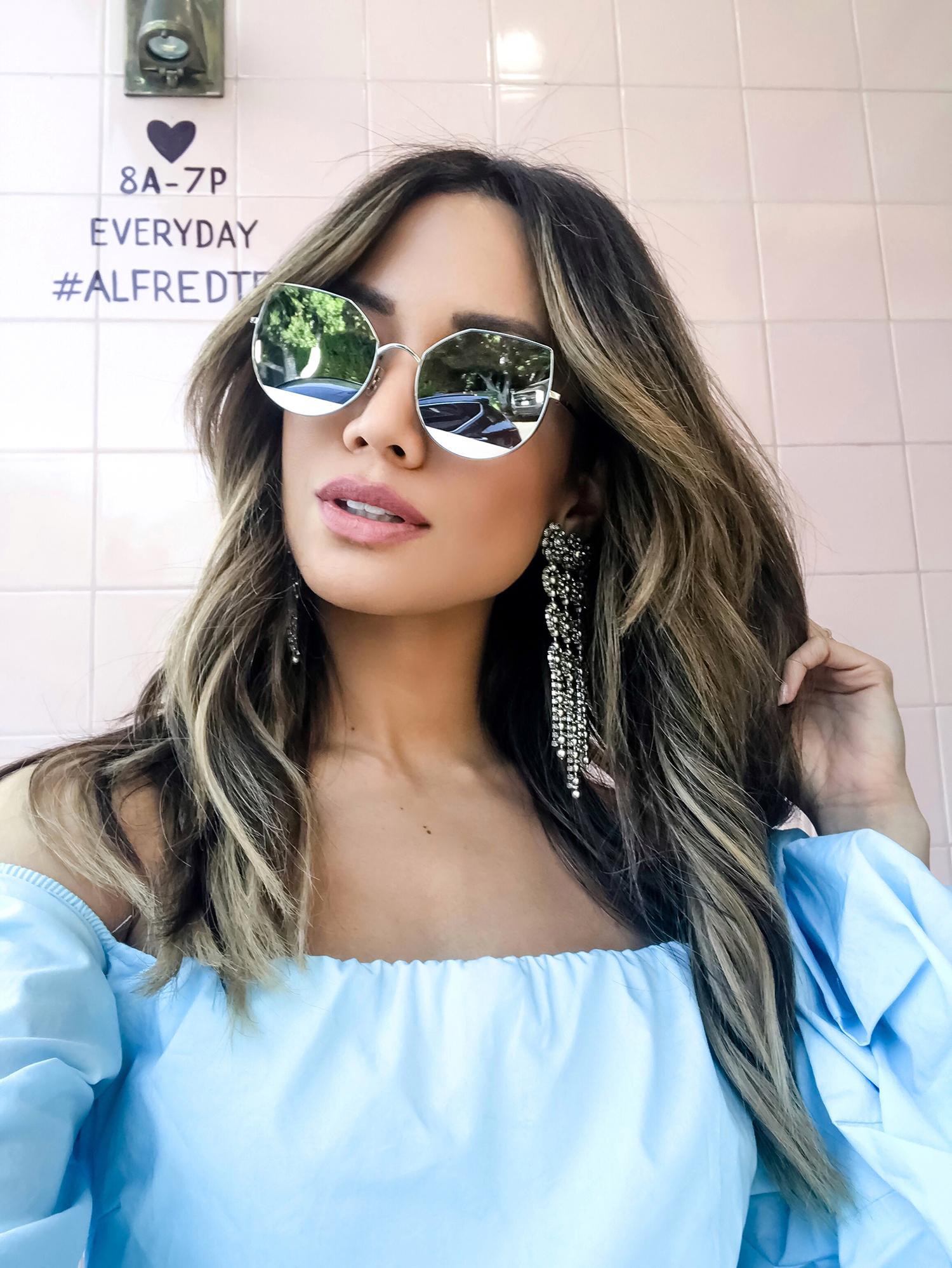 Jessi Malay wearing Dylan Lex Earrings