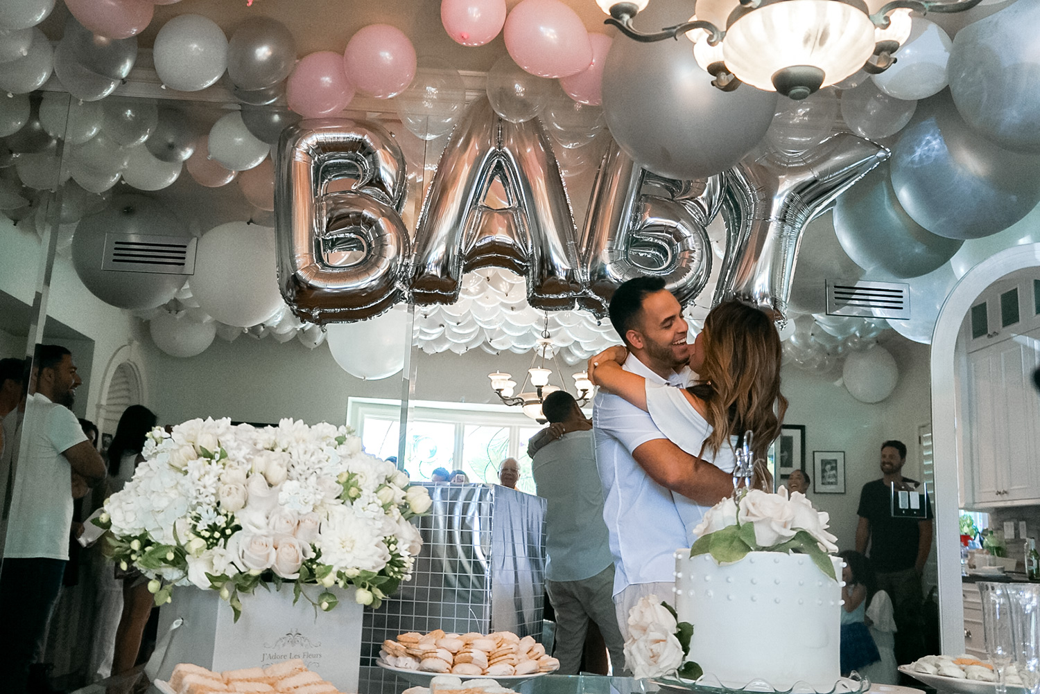 Jessi Malay Baby Gender Reveal Party 2
