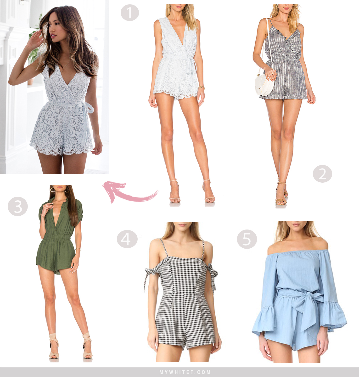 Jessi Malay casual rompers