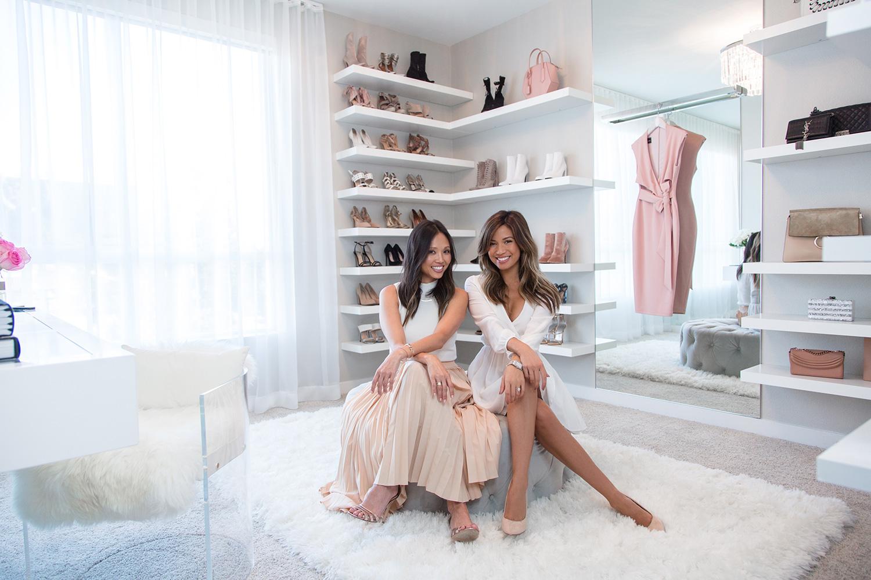 Jessi Malay and Lisa Adams LA Closet Design