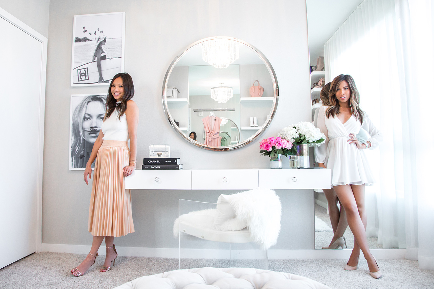 Jessi Malay and Lisa Adams LA Closet Design