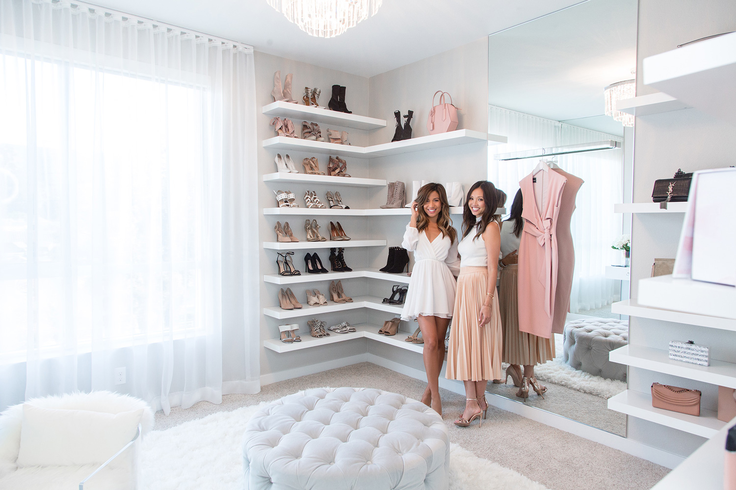 Jessi Malay and Lisa Adams from LA Closet Design