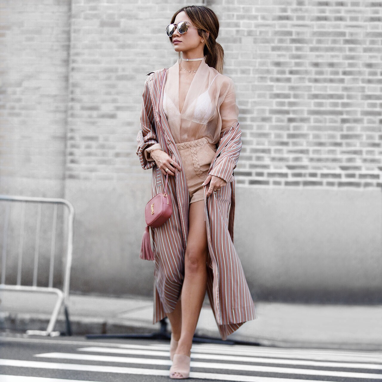 Raquel Allegra Trench Robe