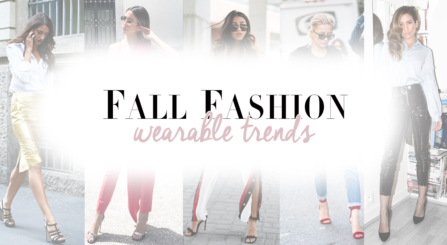 Biggest fashion trends for fall 2017