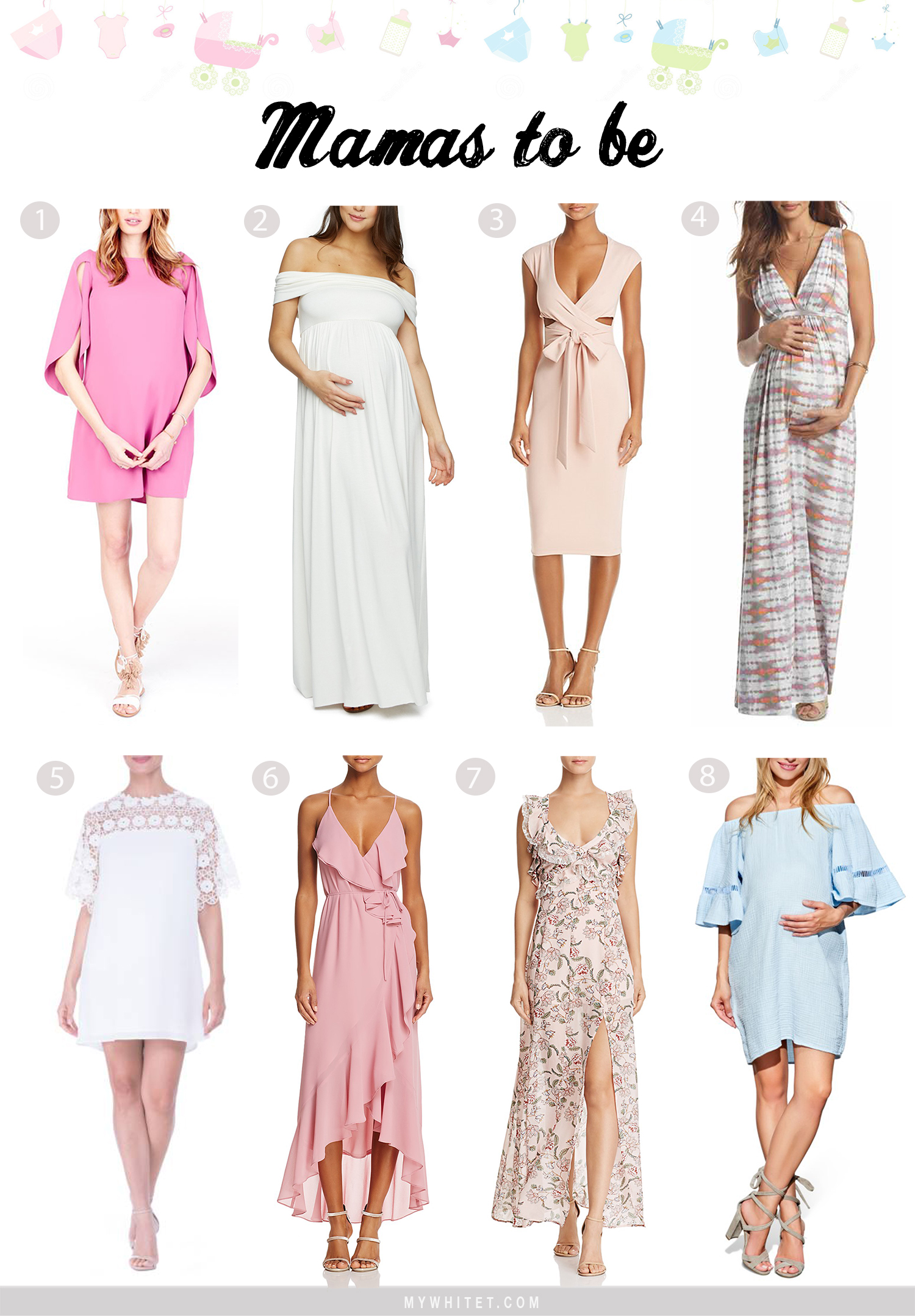What To Wear To A Baby Shower Mywhitet