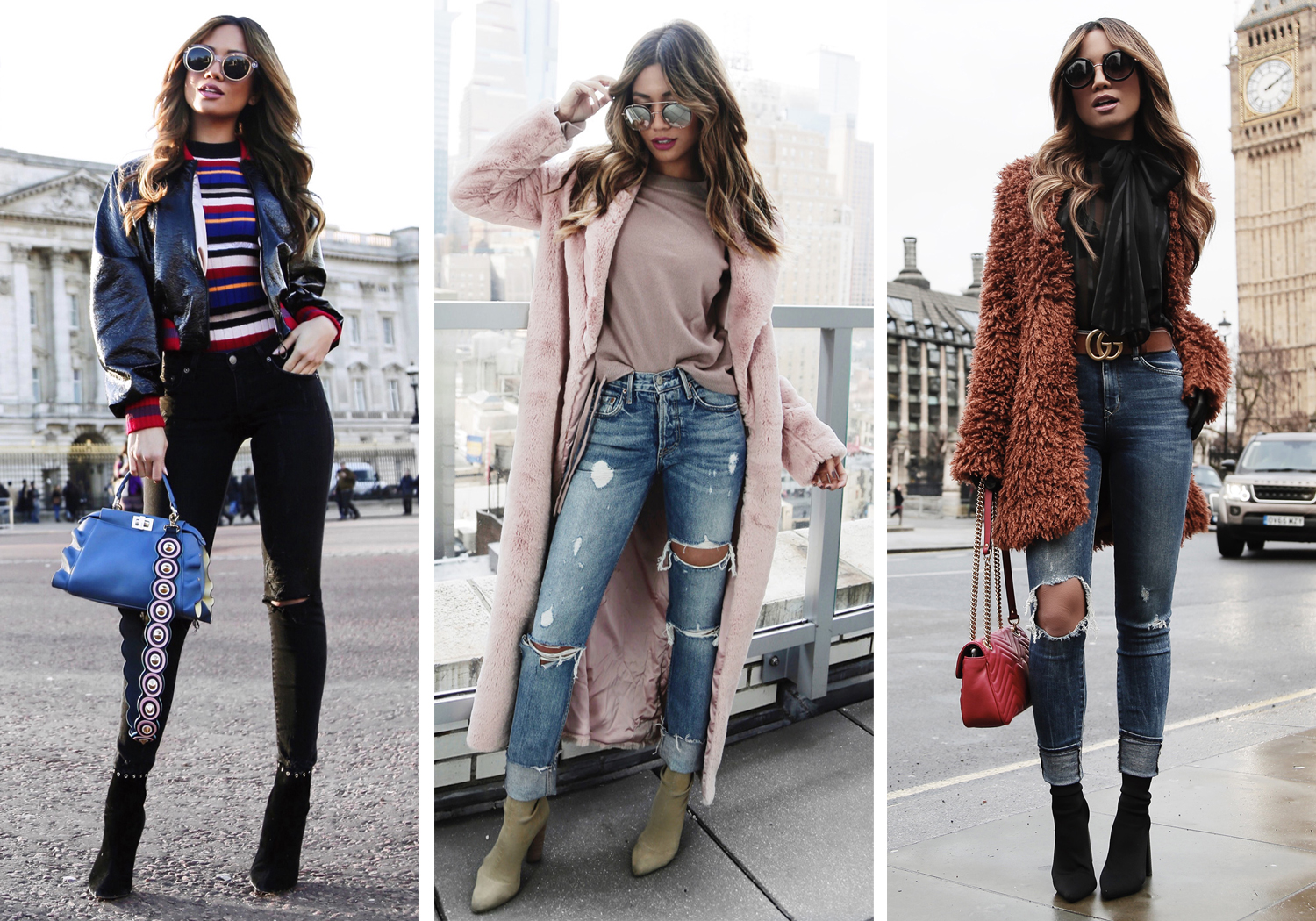Jessi Malay style blogger OOTDs
