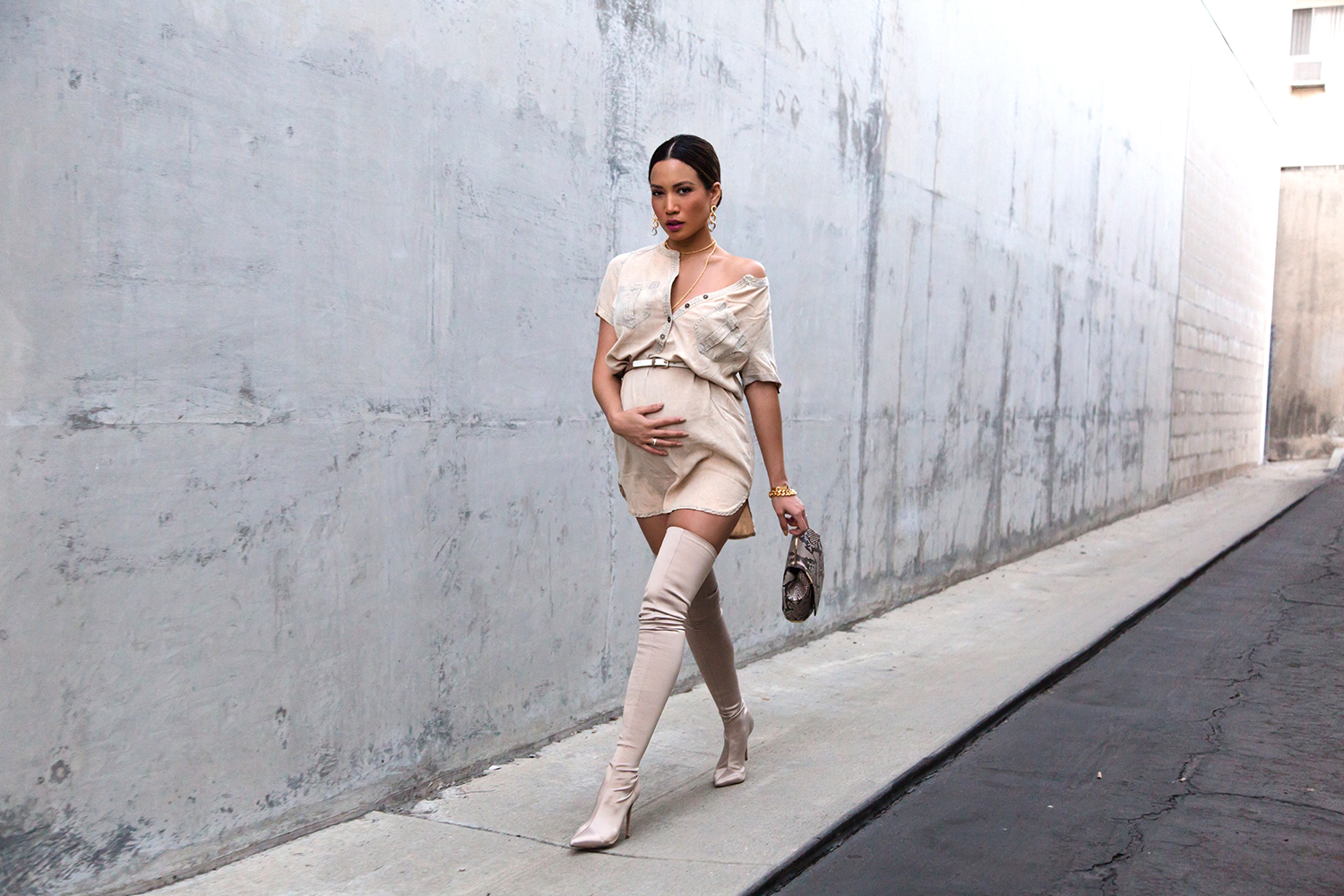Jessi Malay Style Blogger Fashion Bump