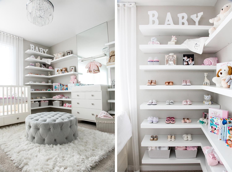 baby girl nursery wall decor