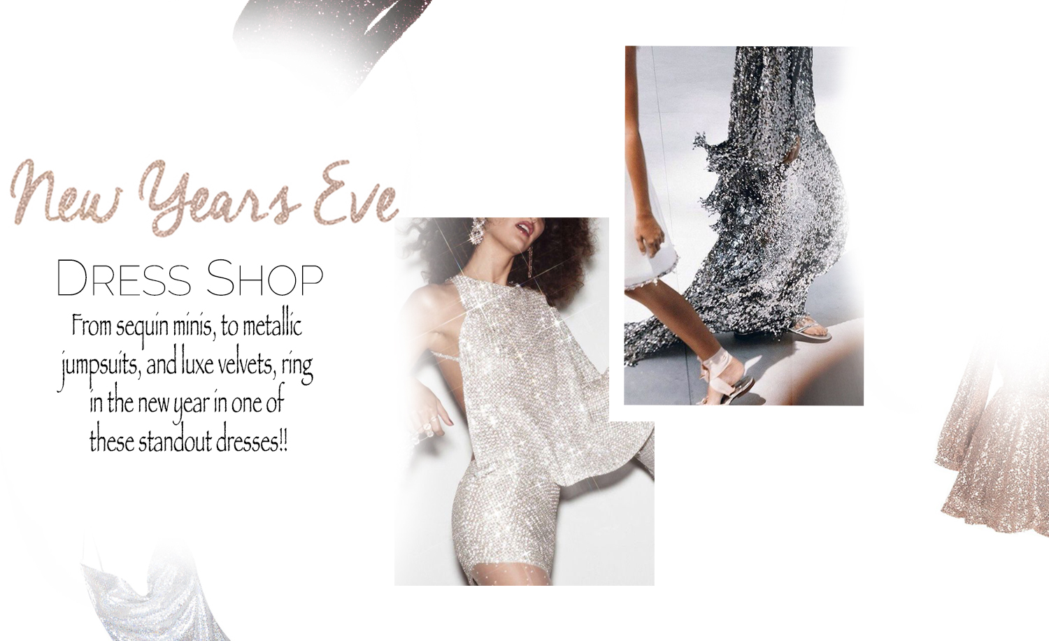 New Years Eve Party Dresses Affordable Dresses Sequin Glittery Inspo