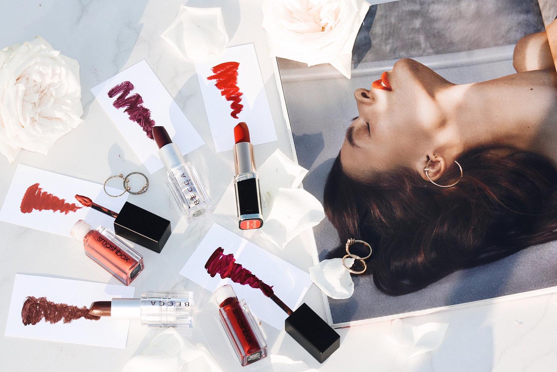 Popular lipstick colors trends 2018
