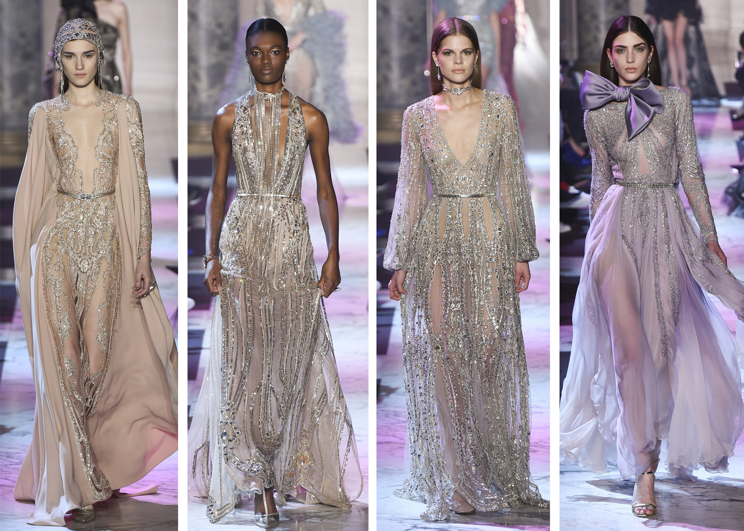 Elie Saab Spring Ready To Wear 2018 Paris Fashion Week