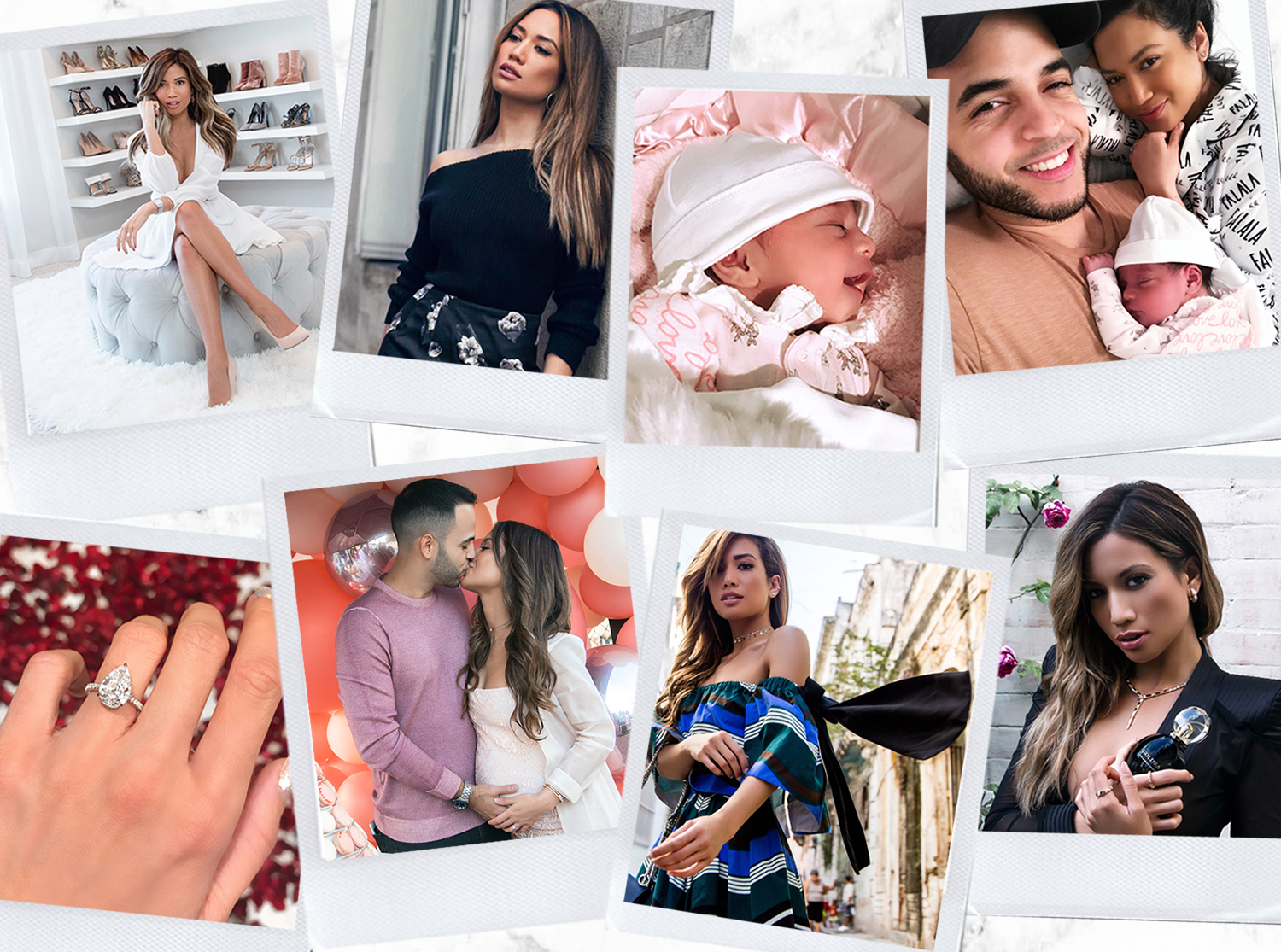 Jessi Malay best moments of 2017 lifestyle family baby engagement pregnancy