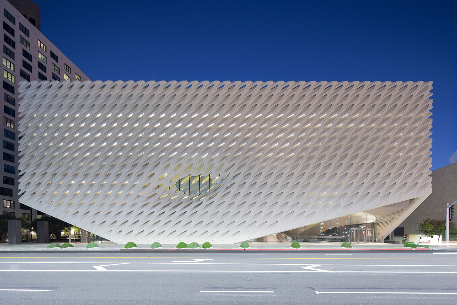 the broad museum free admission