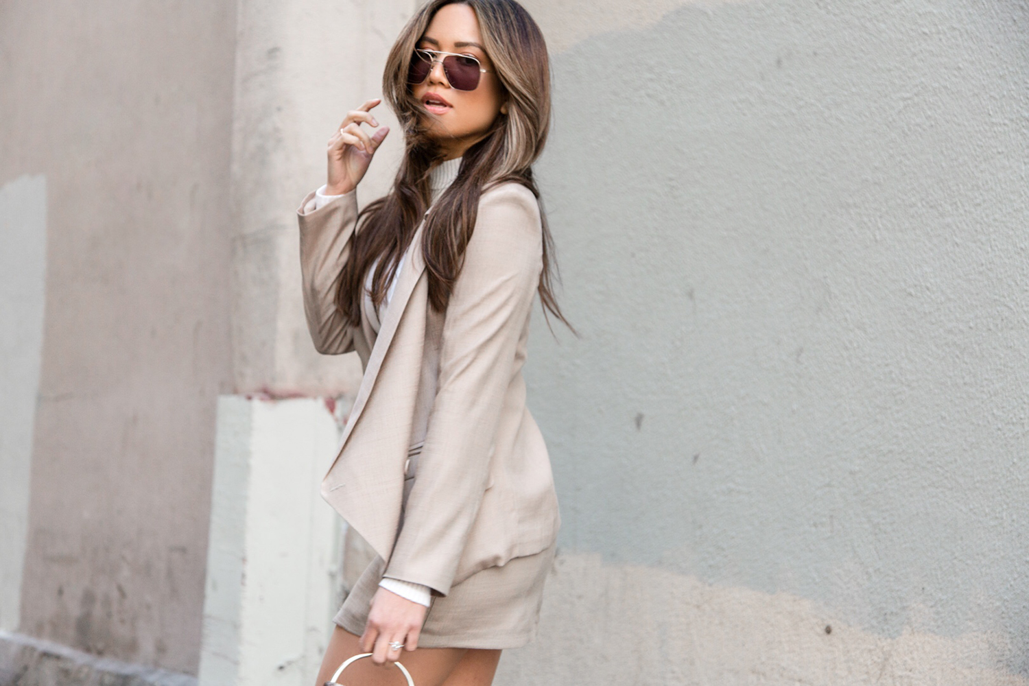 business casual meets chic outfit