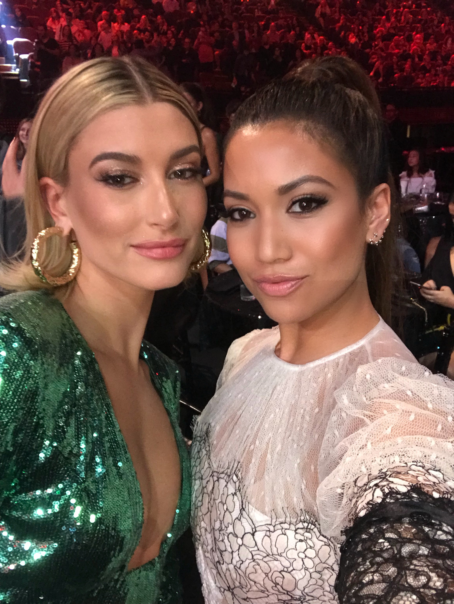 Hailey Baldwin iHeartAwards Hosting Carpet